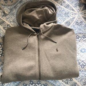 Men's polo hoodie